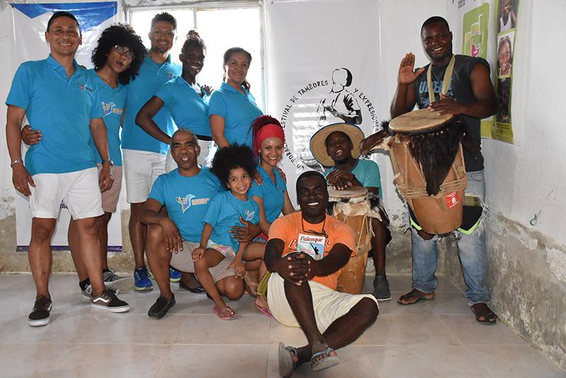 la vida es un carnaval 5 Visita a la casa de la cultura en el Palenque de San Basilio.
